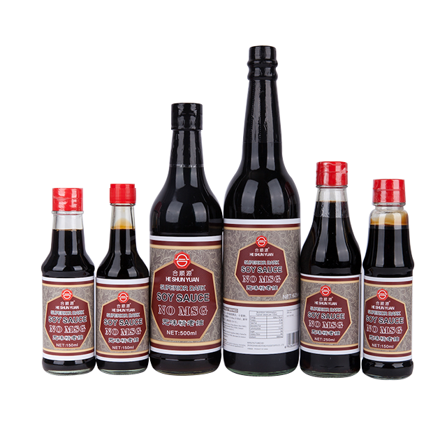 No MSG Superior Dark  Soy Sauce