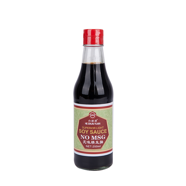 No MSG Superior Light  Soy Sauce