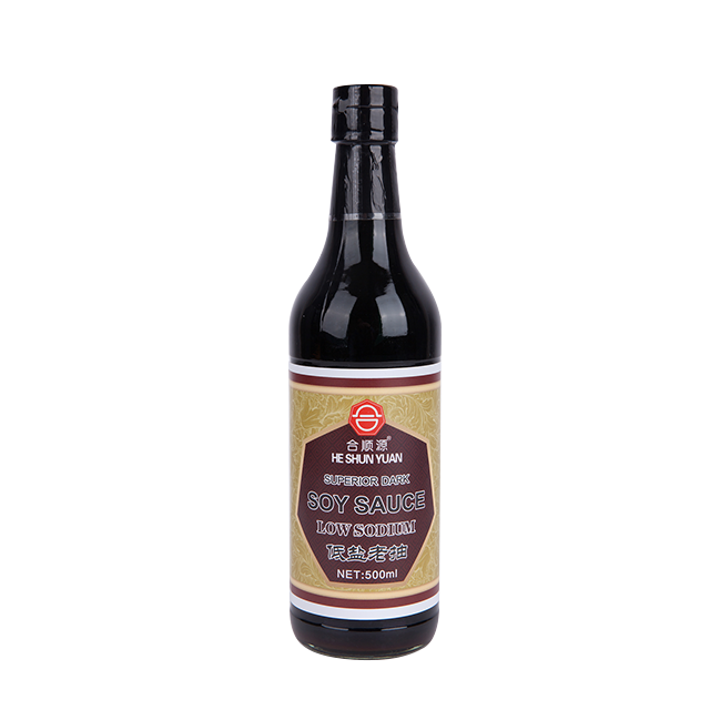 Low Sodium Superior Dark Soy Sauce